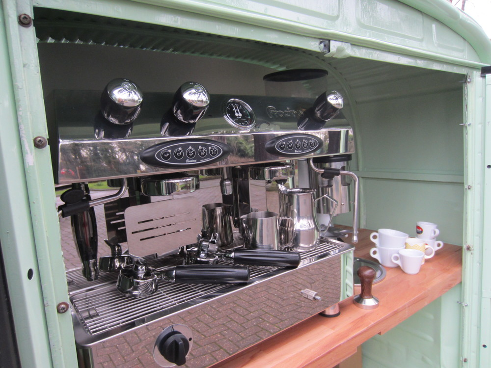 Mobile craft coffee
