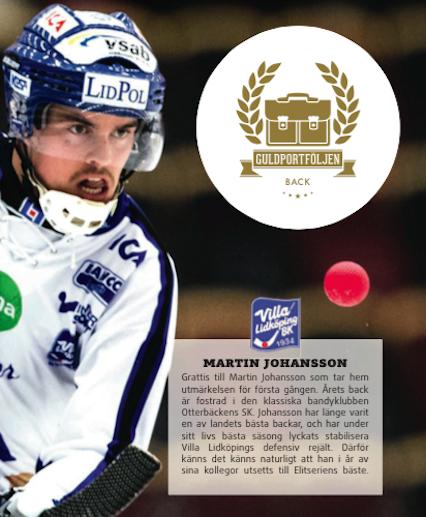 Försvarare: Martin Johansson