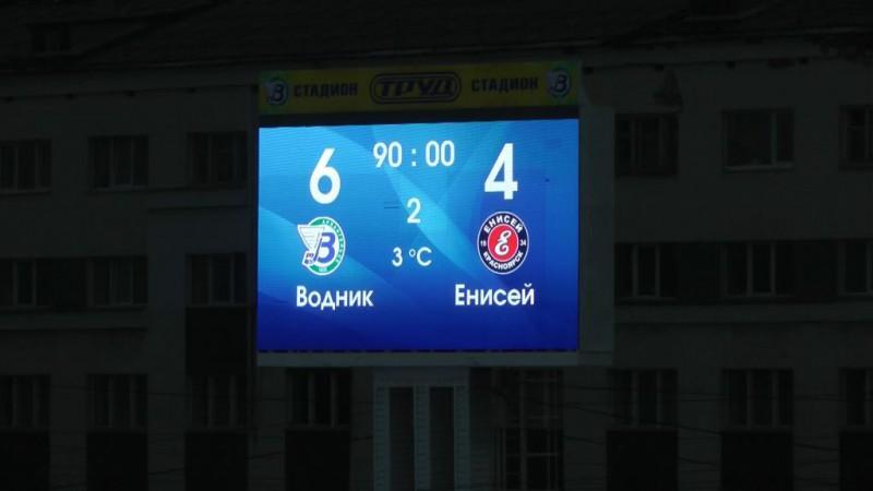 Dubbel förlust för Jenisej då Roman Chernykh skadade sig allvarligt under matchen