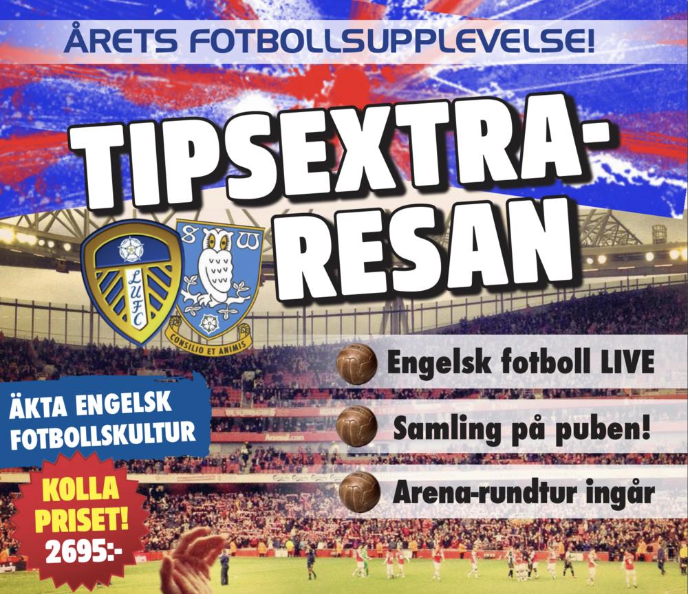 Jan 18 Tipsextra-resan - för dig som älskar engelsk fotboll ·  Bandyportföljen ed978c3badc23