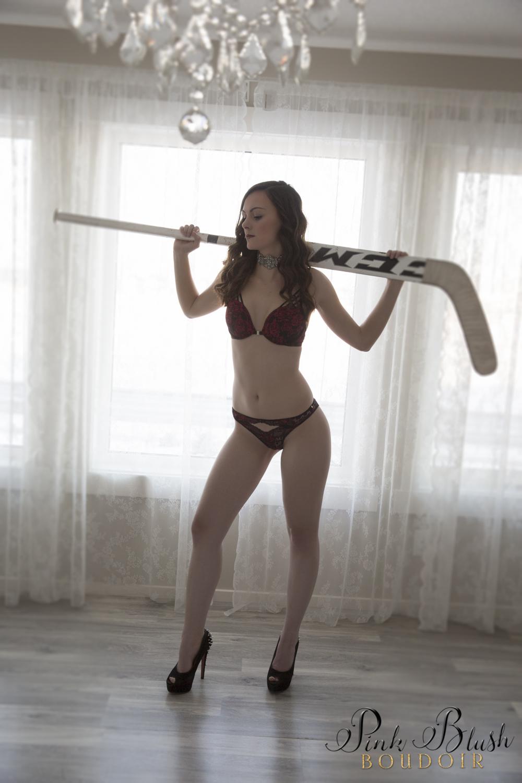 Hockey Boudoir Photos