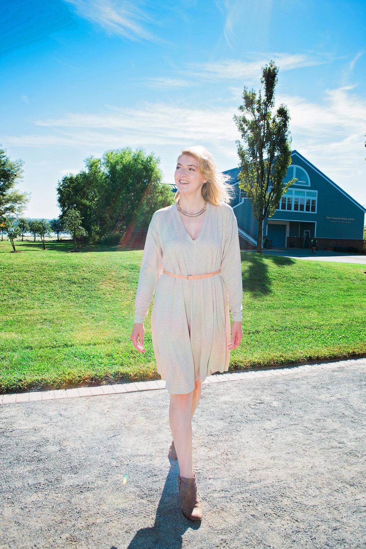 Eleanor Dress Cream