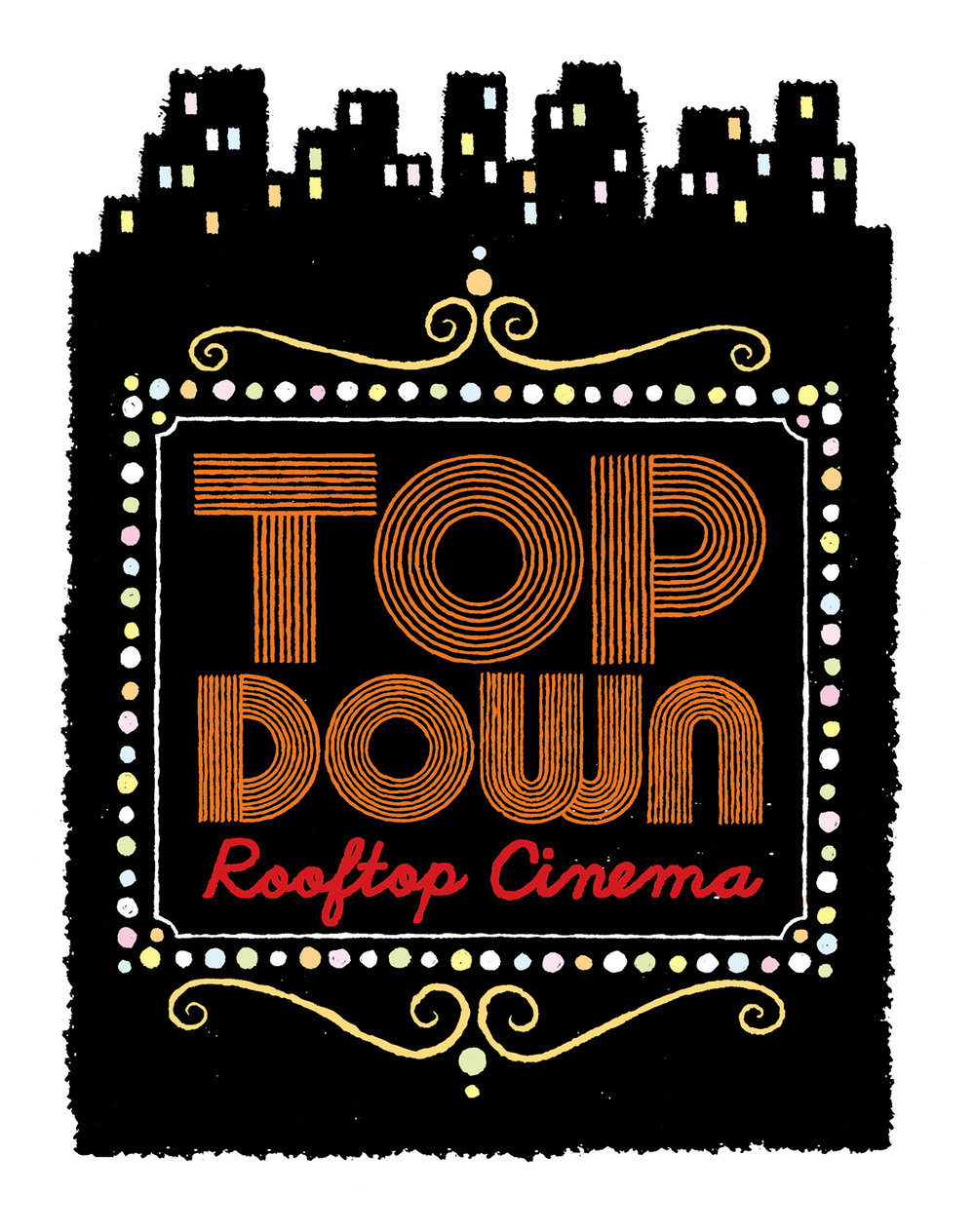 Top Down Film Festival Logo