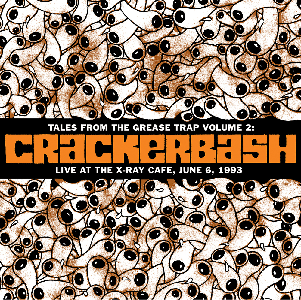 Crackerbash LP Cover