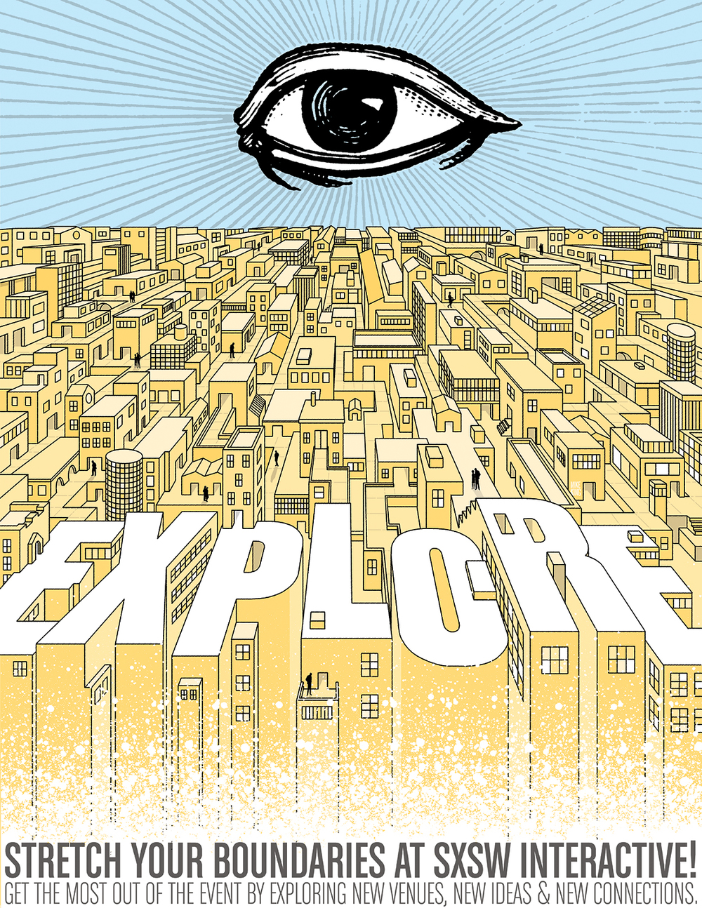 """Explore"" Print Advertisement"