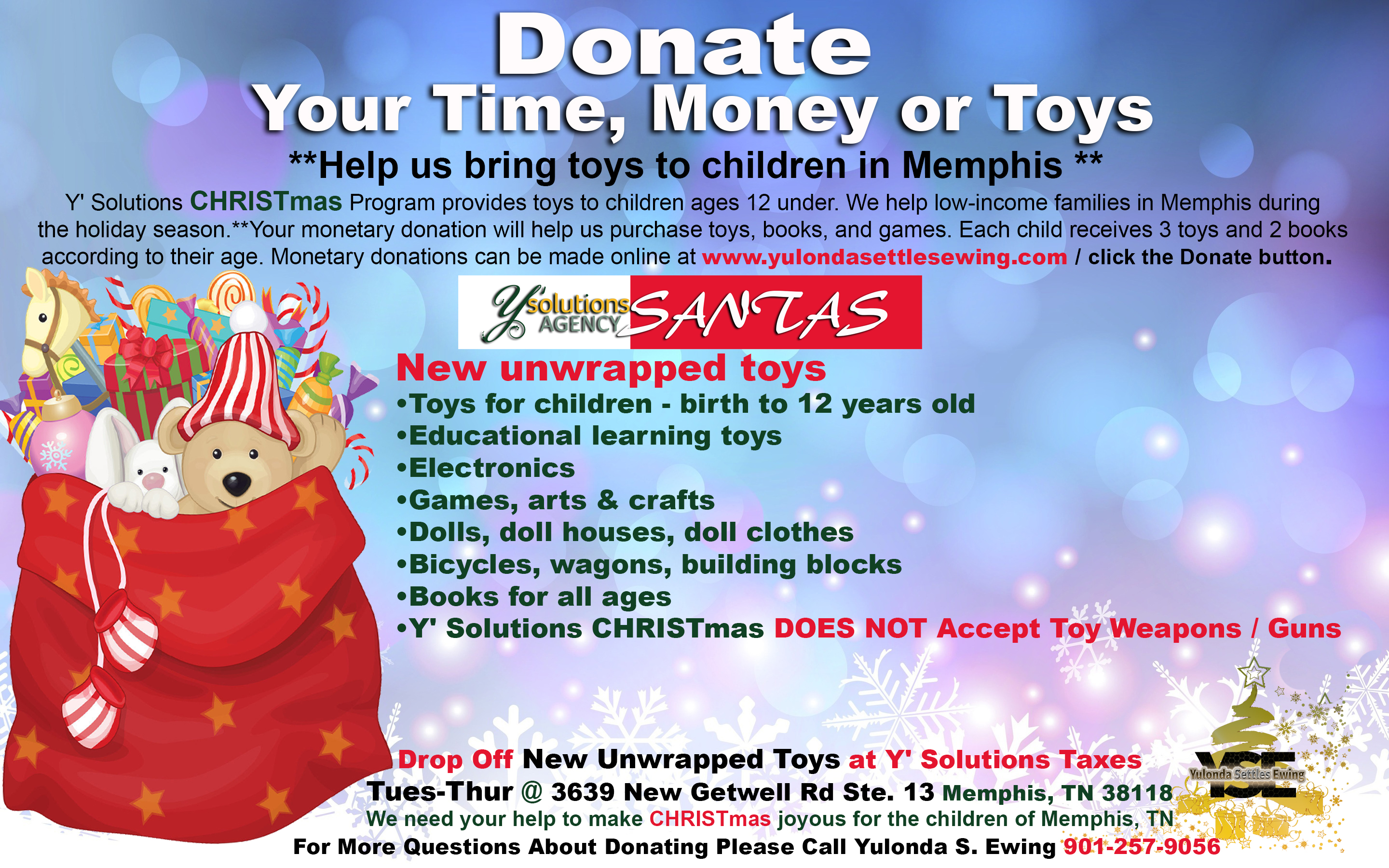 make a financial donation - Toy Donations For Christmas