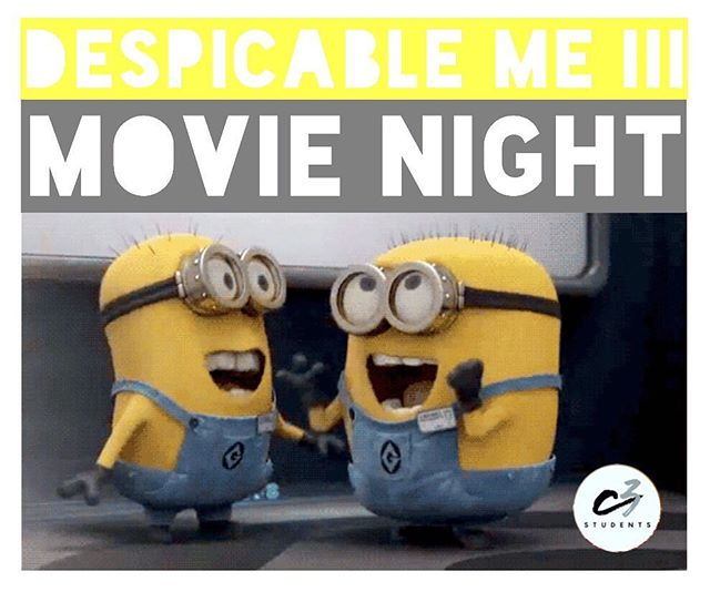 It's going down at 3PM @malcotheatres #paradiso Hope to see you there. #memphis #c3memphis #youth #students #movienight #despicableme3 #faith901