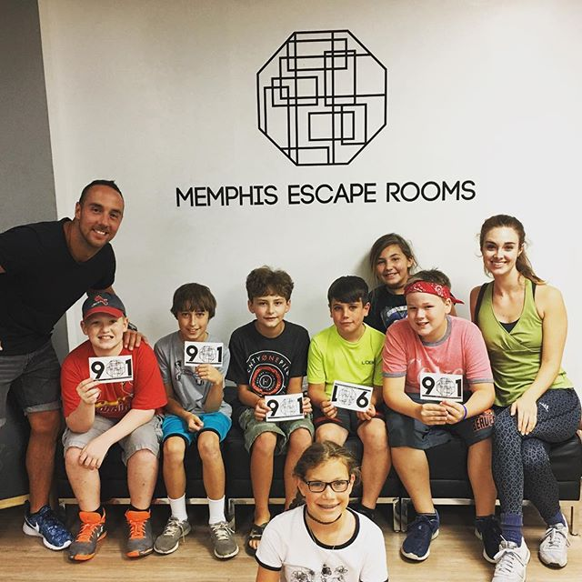 We got sooooo close!!! #didntescape #soclose #somuchfun #c3memphis #c3students #c3summerexperience @rachaelbcantrell @soulpunk72 @nic.winn @coletonsegars @c3memphis @memphisescaperooms
