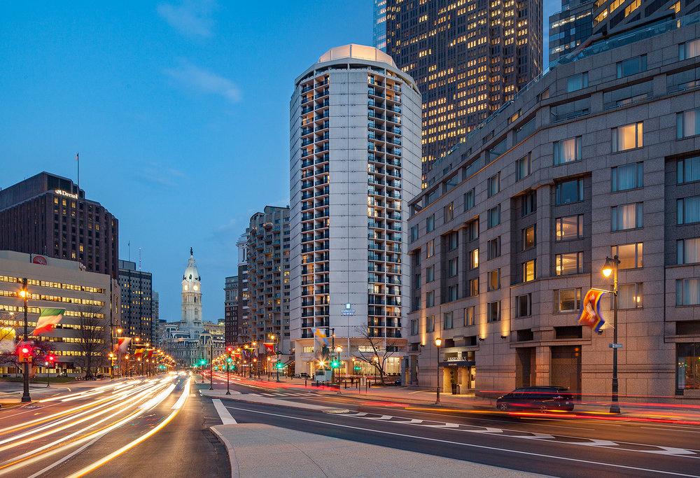 Embassy Suites Philadelphia Center City 1776 Benjamin Franklin Pkwy  Philadelphia, PA 19103 Tel: 215
