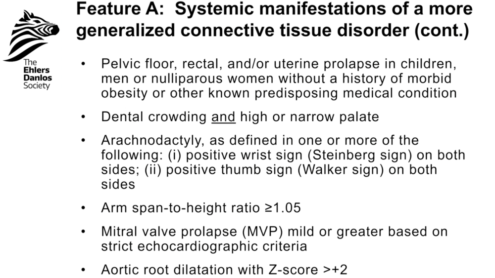 Feature A: Systemic Manifestations, Slide 2