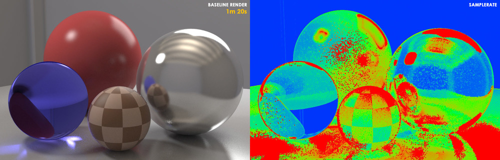 Render Base 1min e 8max Subdivs = Image Sampler (AA) 8 Subdivs = Lights, GI, e Material cada