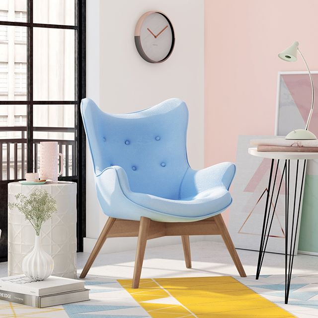 Nice 3D chairs composing a sweet scene!!!! 😍 #3dsmax #vray #modeling