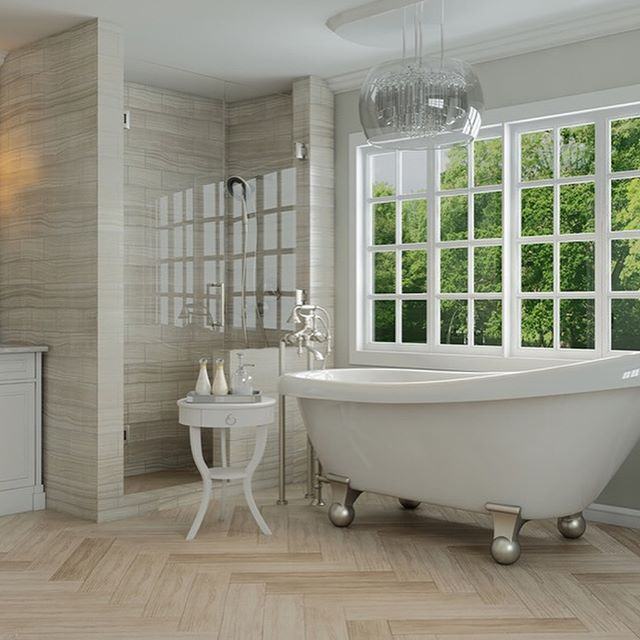 Another astonishing render reflection to admire on this bathtub!