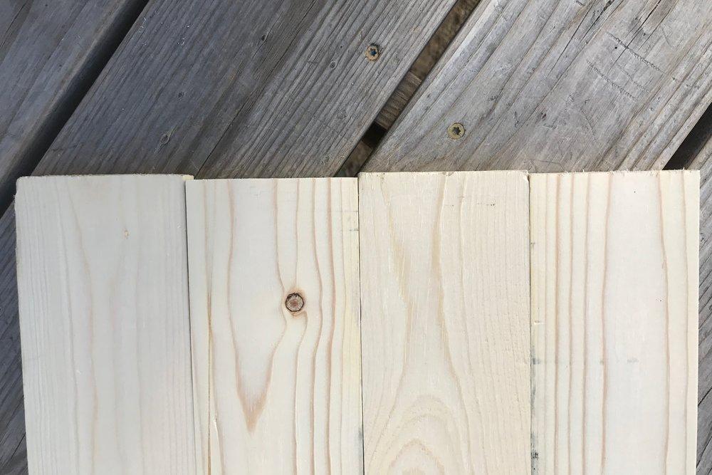 Peonies & Cream - Wood Sign Edges