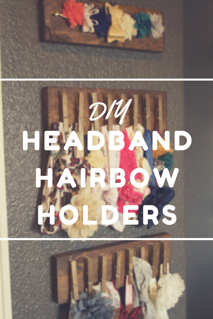 Peonies & Cream - DIY Headband Hairbow Holders