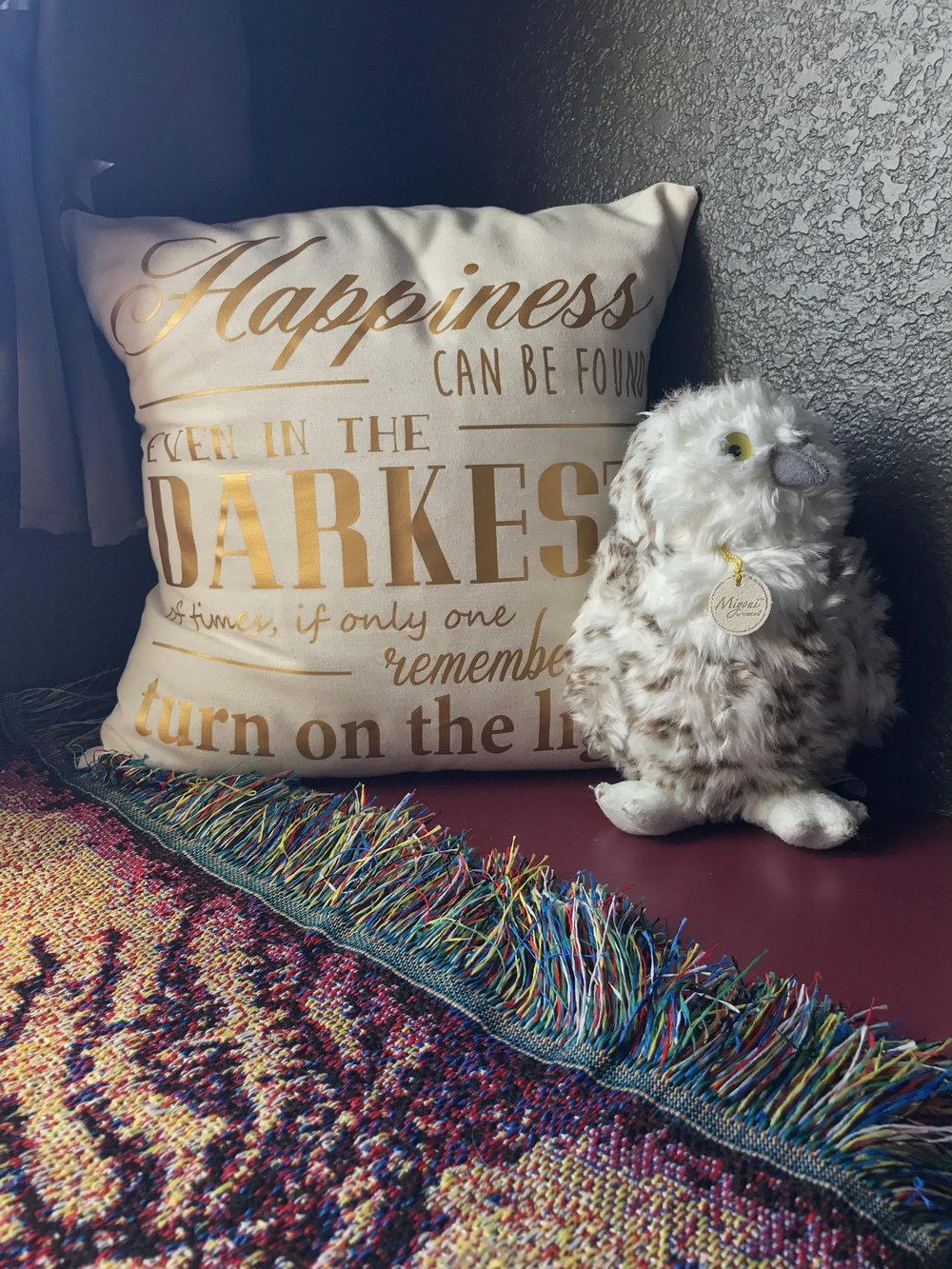 Harry Potter Toddler Room - Dumbledore Quote Pillowcase