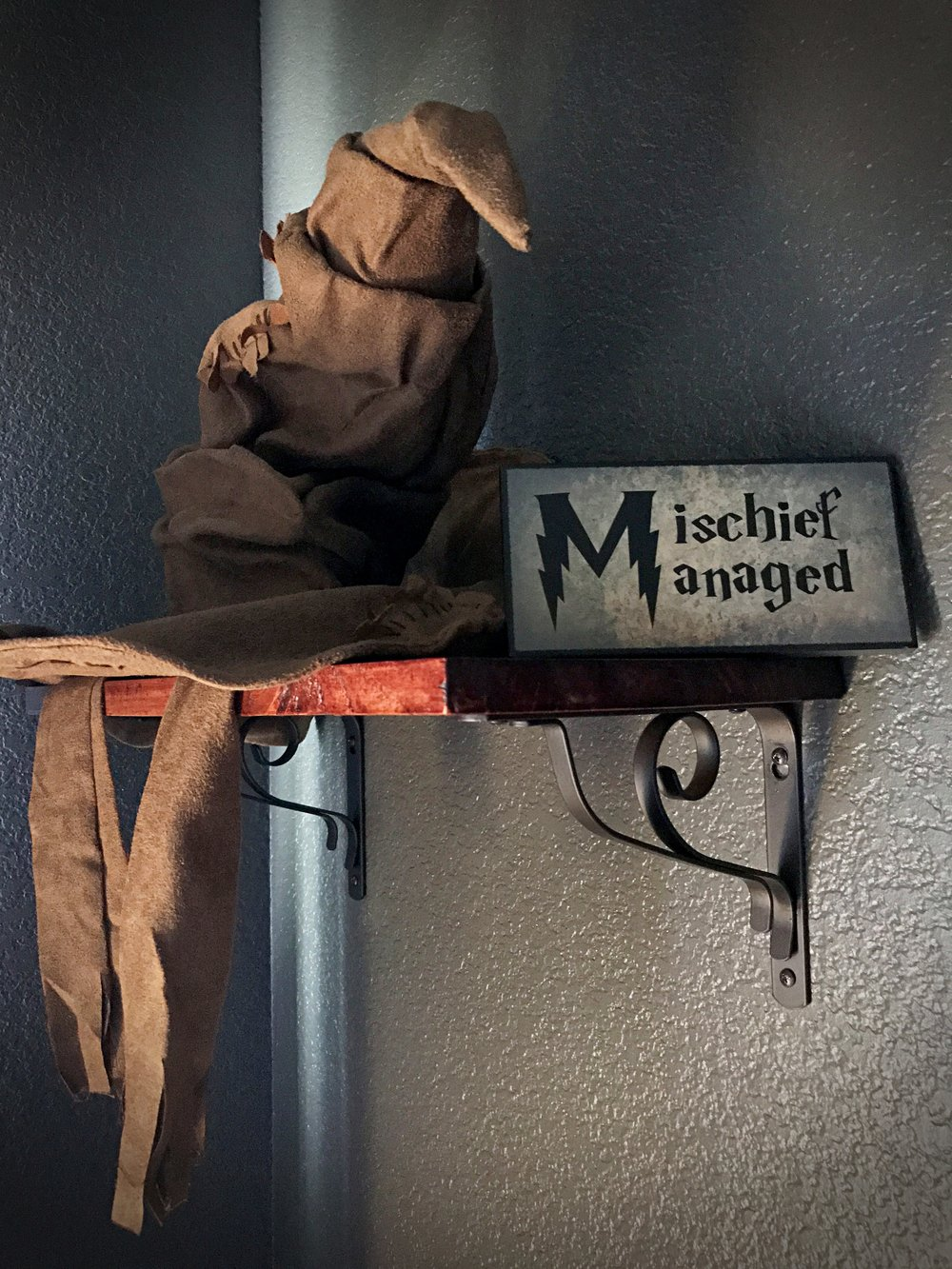 Harry Potter Toddler Room - Sorting Hat Mischief Managed