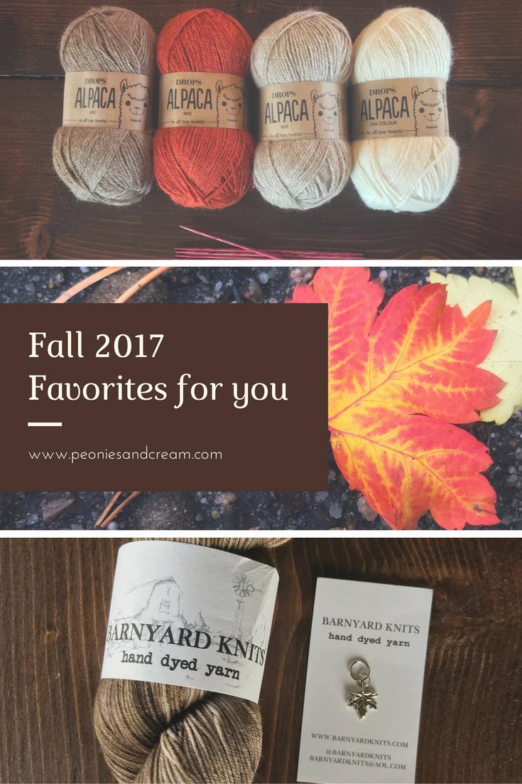 October Favorites - Peonies and Cream
