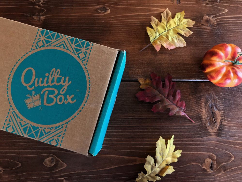 October Favorites - Quilty Box - Peonies and Cream
