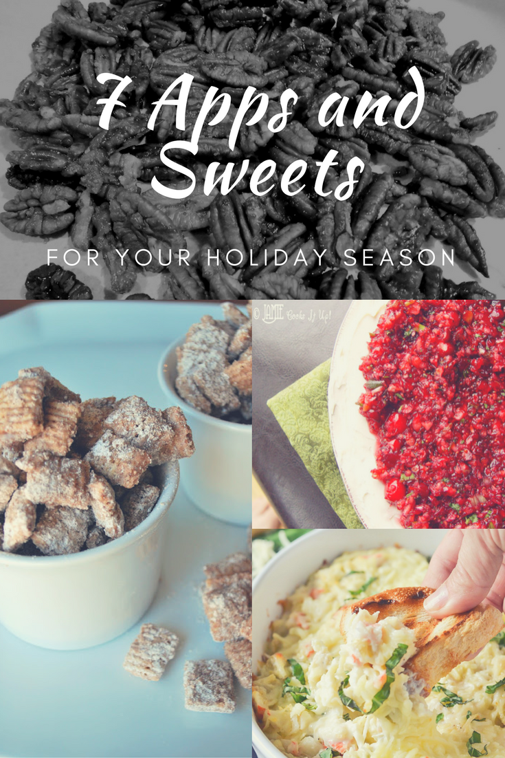 7 Appetizers and Sweets that are Perfect for your Holiday Season - Peonies and Cream