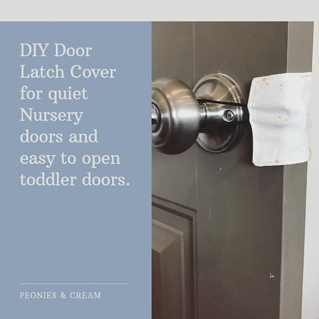 👩🏻‍💻New Post!!!👩🏻‍💻⠀ ⠀ Today's post is a fast and easy sewing project.⠀ ⠀ I made these door latch covers to try to keep the girls' doors from the latching the millions of times a day the girls decide to close them before remembering they aren't able to open them.⠀ ⠀ They didn't quite work for that (which isn't their intended purpose) but they did cover the tape job I did over the door latch, and help quiet the close of the door!⠀ ⠀ Good enough for me!⠀ ⠀ If you're looking for some door closure solutions, or have a baby shower coming up that you'd like some fast DIY's for (or to stock pile for future showers) then be sure to check out this post!⠀ ⠀ 🔗link in bio🔗⠀ ⠀ #peoniesandcream #Blogpost ⠀ #blog #bloglife #blogger#makersgonnamake #makersofinstagram #makersmovement #sewing #diysew #sewingproject #selfsewn #sewistsofinstagram #ilovetosew#diy #makeyourown #diyproject #letsdiy #doityourself #project #letsmake #doorlatchcover #babyshower #babyshowergift #babydiy #nurserydiy #diynursery