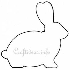 Bunny Silhouette on Peonies and Cream