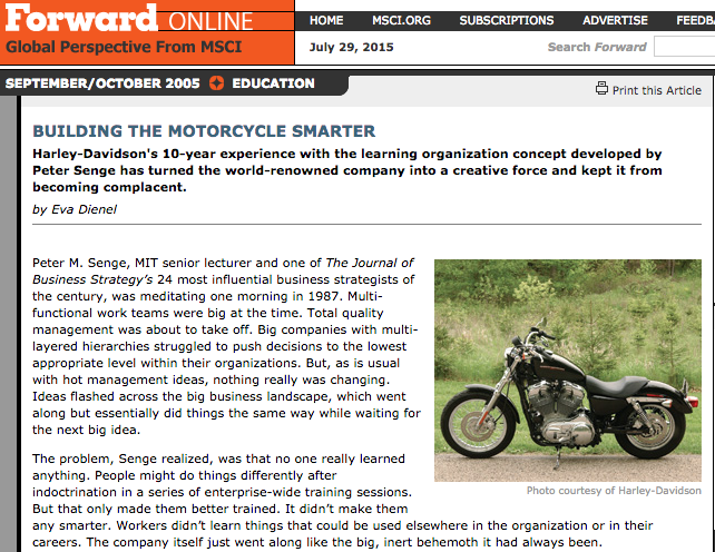 Building the Motorcycle Smarter