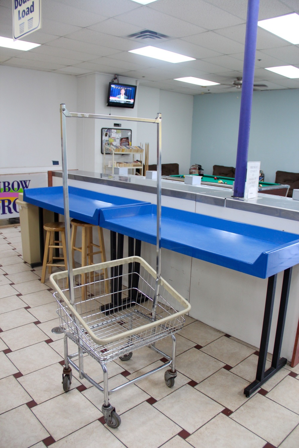 Rainbow Laundry MPLS Folding Tables