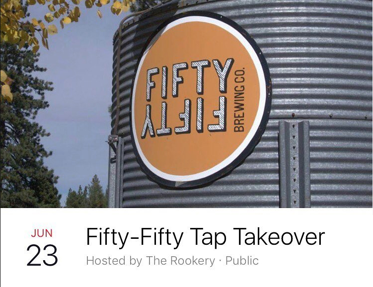 Rookery Ale House Tap Take Over