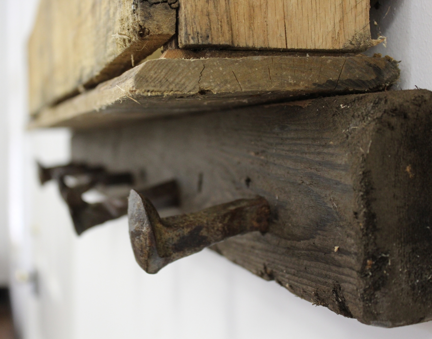 uses for old railroad spikes