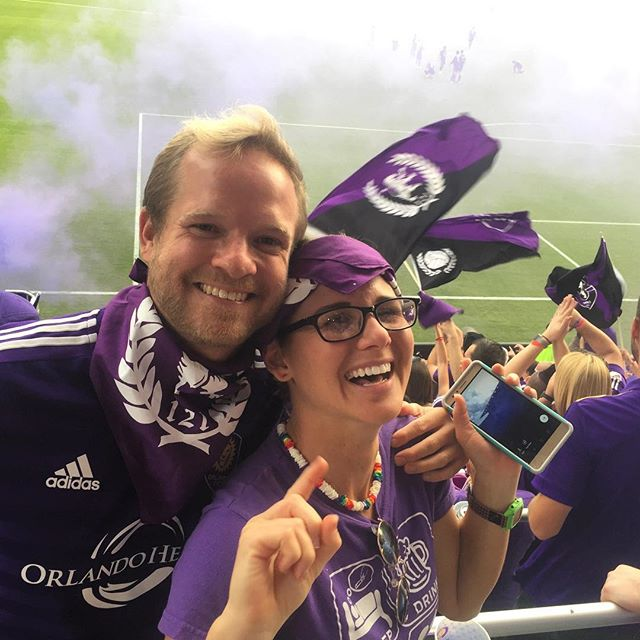 My bb and me @OrlandoCity