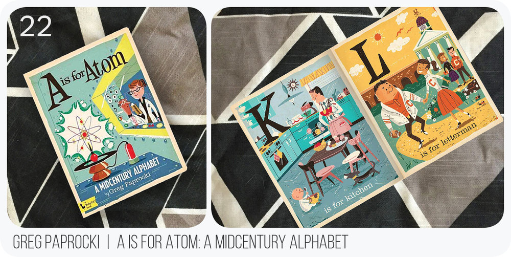 Midcentury style-- hip enough for the hippest parent but also fun for your littles!