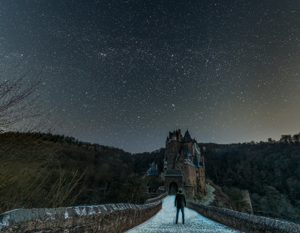 """Selfie underneath the stars"" by  Matthijs Bettman"