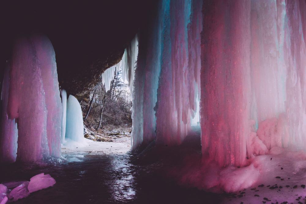 """icefalls"" by Veronika Gilková"