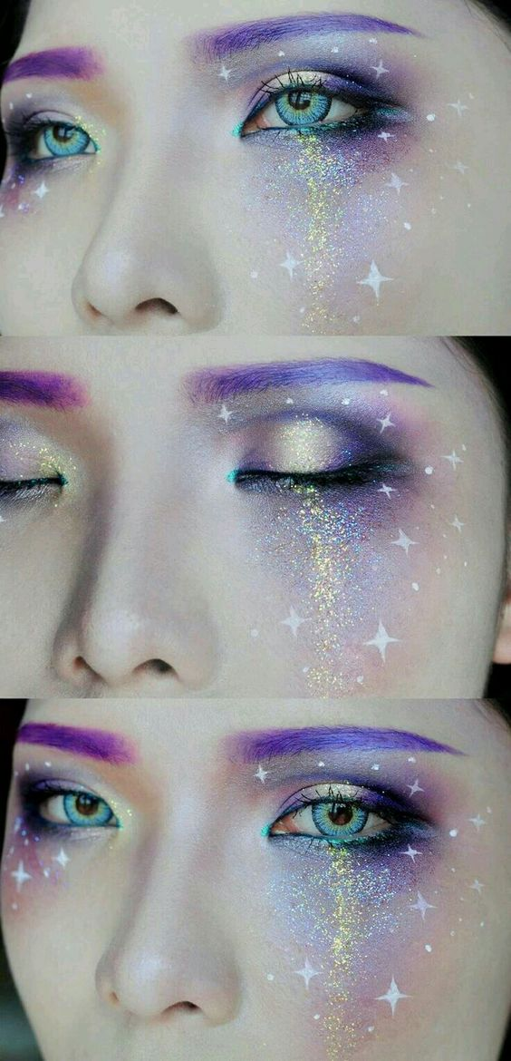 Intergalactic makeup! ( source )