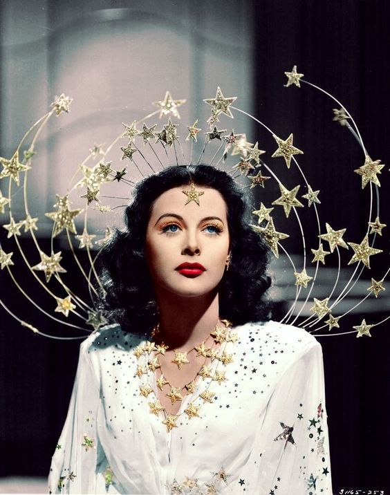 Hedy Lamar (Ziegfeld Girl, 1941--  source )