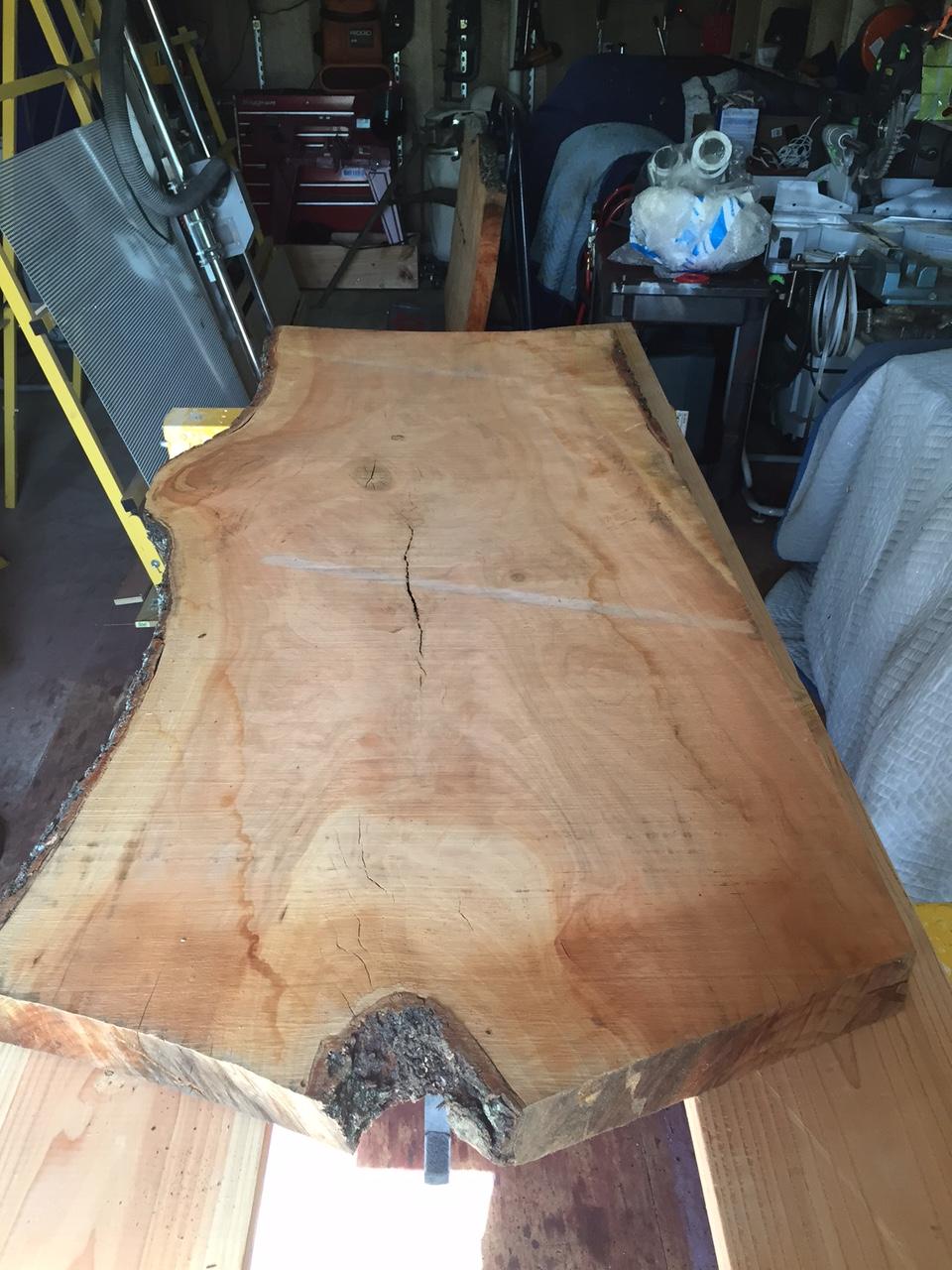 Preparing the slabs...