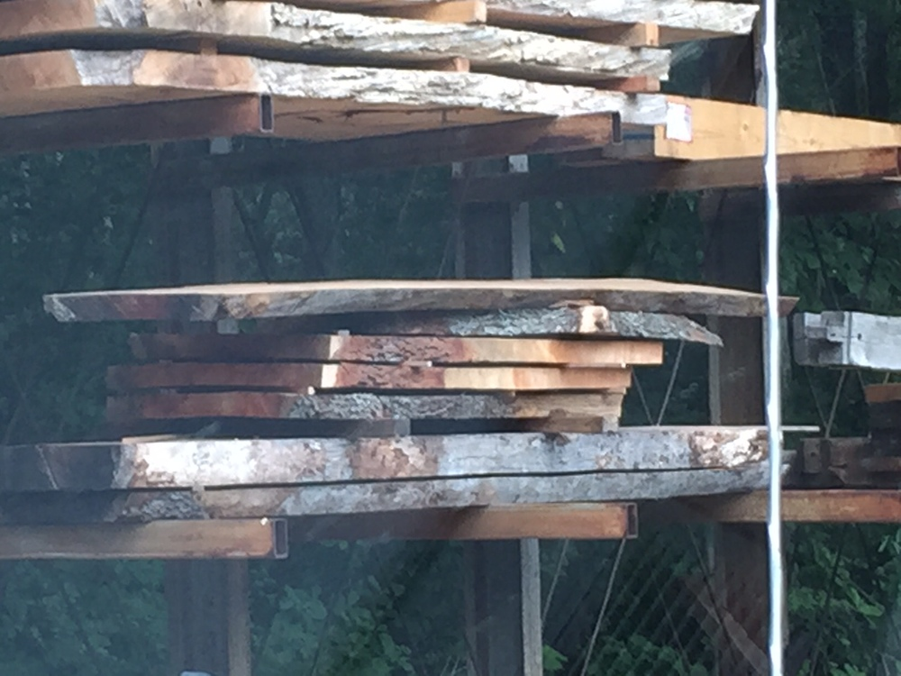 Lumber yarding!