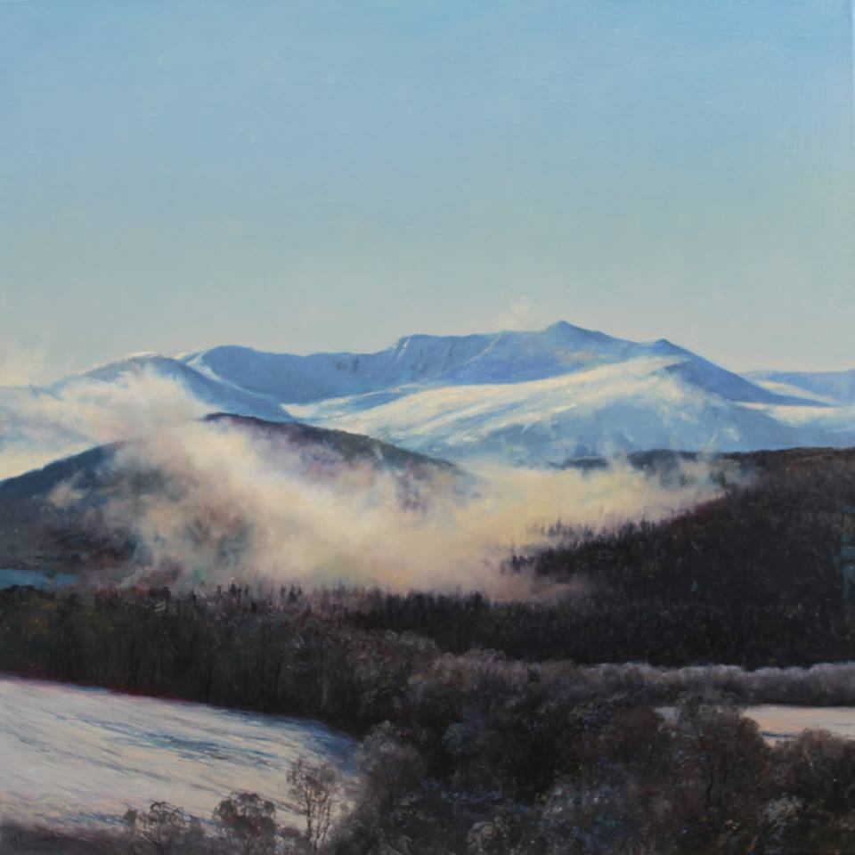 Lochnagar, oil on canvas, by Vladimir Vilenchyts