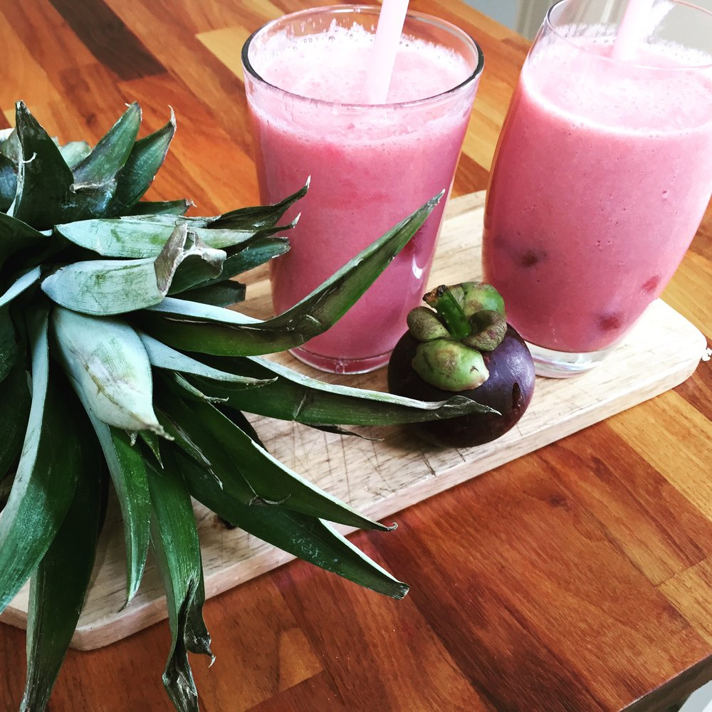 Mangosteen smoothie