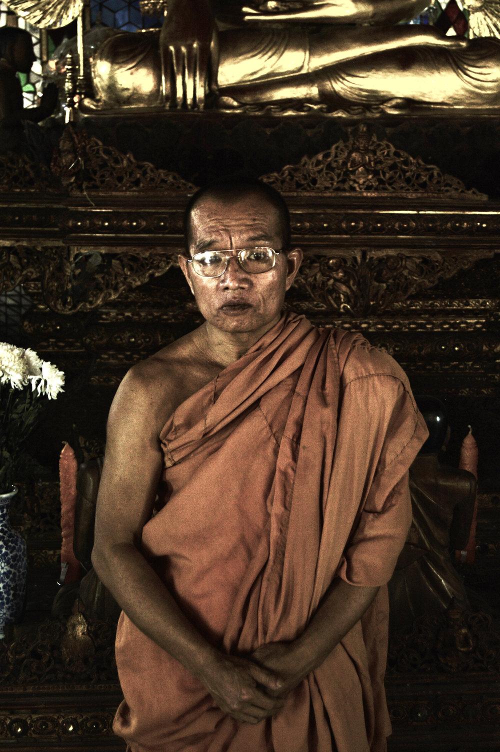 Monk Phra Athikarn Somchak Kittitaro