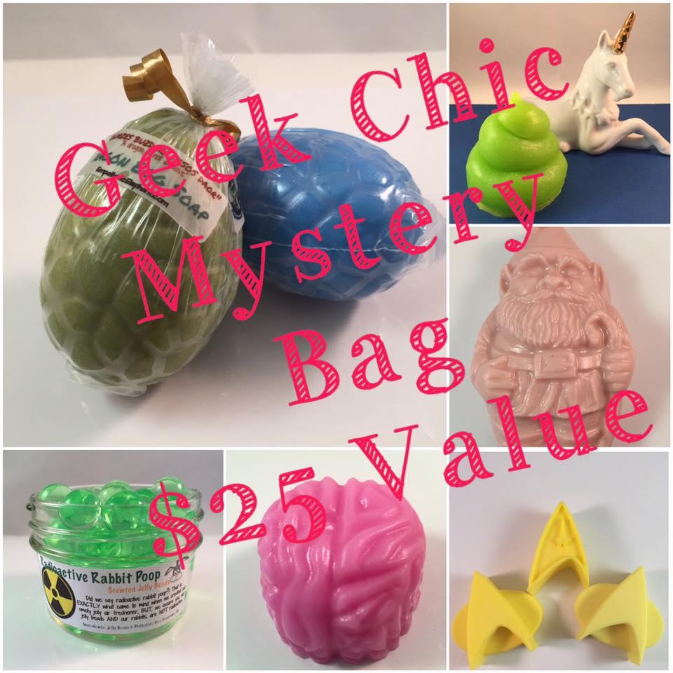 Mystery bag of Geek Chic/Random Fandom, $25 Value EmpatheticElephant.com
