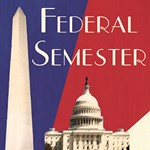 The Federal Semester Program - is designed to give students a head start in their federal careers. Students take a seminar course in the fall taught by an industry expert and then work in the field during the spring with an internship in a public service organization, embassy, or government agency.