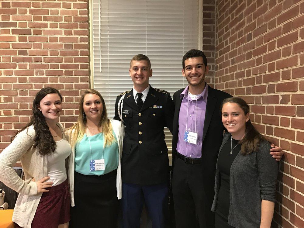 2017 - Marina, Brooke, Garrett, John, Allyson