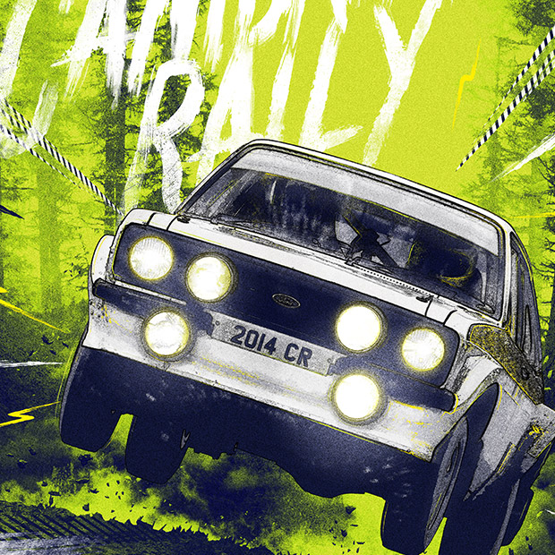 Cambrian Rally 2014 - BRANDING | ILLUSTRATION