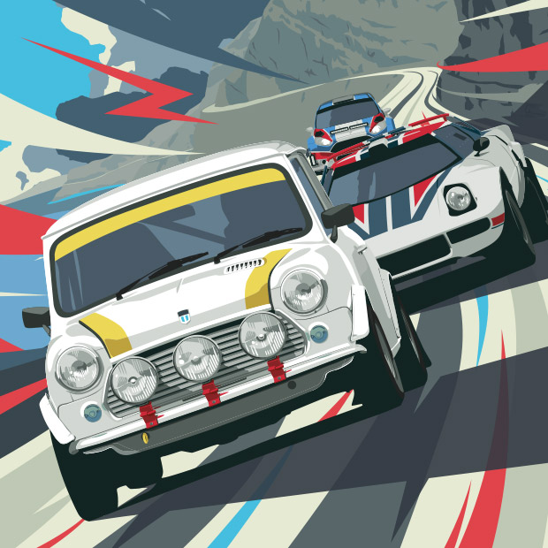 Cambrian Rally 2015 - BRANDING | ILLUSTRATION