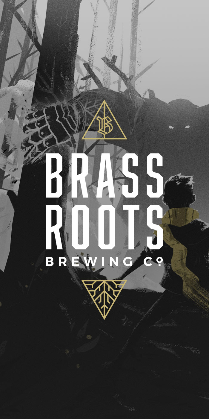 Brassroots Brewing Co. - BRANDING | ILLUSTRATION | PACKAGING DESIGN