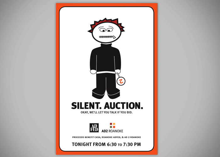 Silent. Auction.