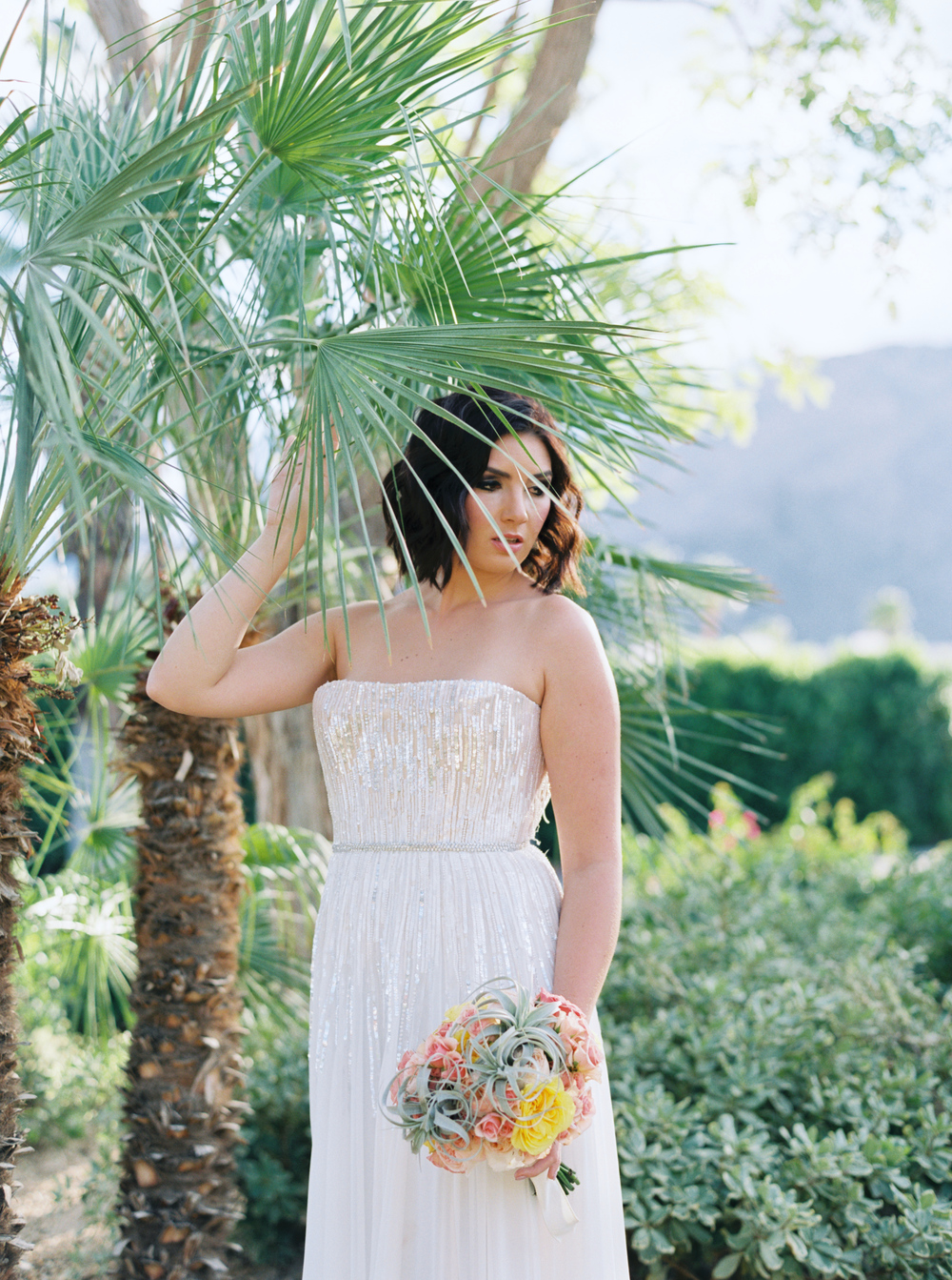Palm Springs Wedding Hair and Makeup | Palm Springs Riviera Wedding