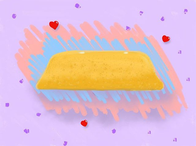 When you are stuck up late at night and can't sleep, you draw a Twinkie. #twinkie #twinkies #latenight #latenite #doodle #doodles #doodlesofinstagram #adobe #photoshopsketch #adobephotoshop #ipadpro #sketch #sketching